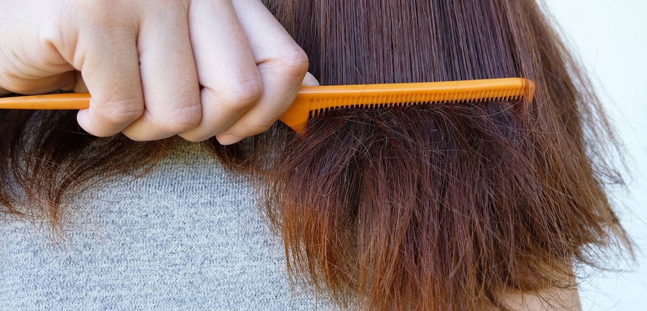 comment ne plus avoir cheveux secs